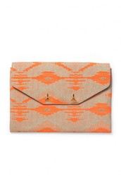 CITY SLIM CLUTCH - AZTEC CORAL