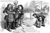 """Thomas Nast asks pardon for his sketches"""