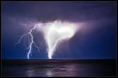 lightnig tornado