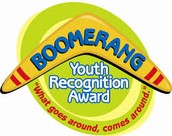 Boomerang Youth Recognition Award-May Asset #37:  Personal Power