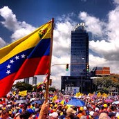 Venezuelas flag and its people
