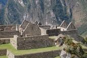 Buildings in Machu Picchu