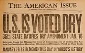 Volstead Act of 1919