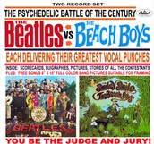 What other groups did they compare the Beach Boys too?