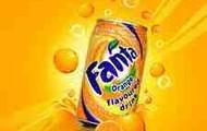 orange fanta.