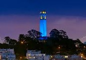 Coit Tower de la noche