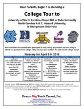 Spring Break College Tour 2016!