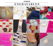 Engravables!