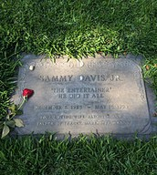Sammy's grave, in the Garden of Honor in Forest Lawn Glendale