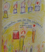 Dilek's candle  picture, 2nd grade