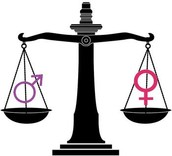 Symbol for women and men equality