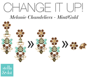 Melanie Chandeliers $29.50 (retail $59)
