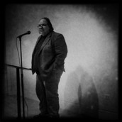 Mark Turcotte at the DePaul Poets reading.