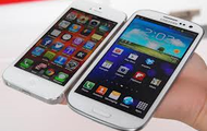 Samsung Galaxy and iPhone 5