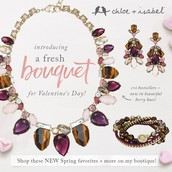 A fresh bouquet of new jewels - mini collection