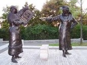 Persons Case Statue