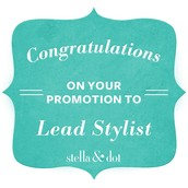 LOOK WHO PROMOTED TO LEAD STYLIST