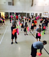 Check out what the 7th grade PE classes are doing!