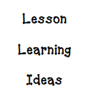 Lesson Learning Idea