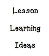 Lesson Learning Idea