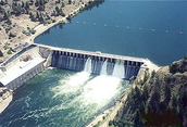 This is a dam