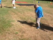Dizzy bat race