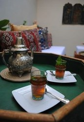Morrocan Mint Tea & Coffee