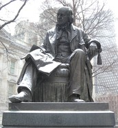Horace Greeley Statue in New York