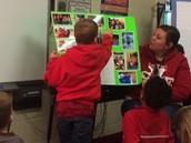 Explaining each picture