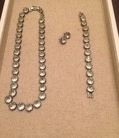 Vintage crystal set $60