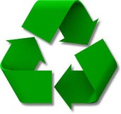 make sure to recycle in the kitchen by keeping a recycling ben and by puting plastic, glass, and papor