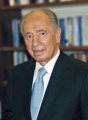 שמעון פרס נשיא התשיעי של מדינת ישראל