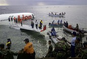 Ethiopean airliner crashes at sea