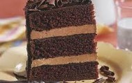 Cake chocolate.