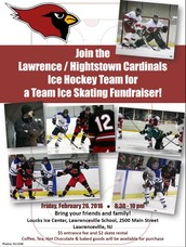 Ice Skating Fundraiser