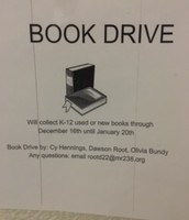 Central's Book Drive