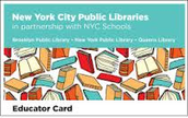 MYLibraryNYC Library Cards