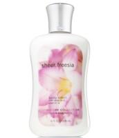 Sheer freesia body lotion