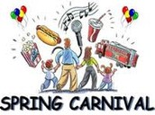 Spring Carnival - March 13th!