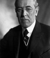 Woodrow Wilson, President of the U.S