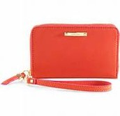Chelsea Tech Wallet - Poppy