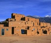 Pueblo Indians Adobe Home
