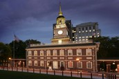 Visiten Independence Hall