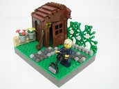 dit tuin huis voor 1000 euro