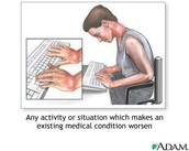 Typing postion or stance
