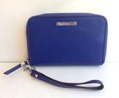 Chelsea Tech Wallet in Blue
