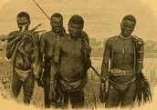 San Bushmen going to hunt!