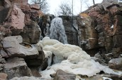 Winter in Pipestone National Park