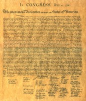 D - Declaration of Independence