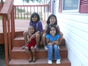 Me, Alejandro, Angela, and Aby
